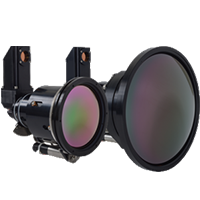 MWIR folded lens thermal camera